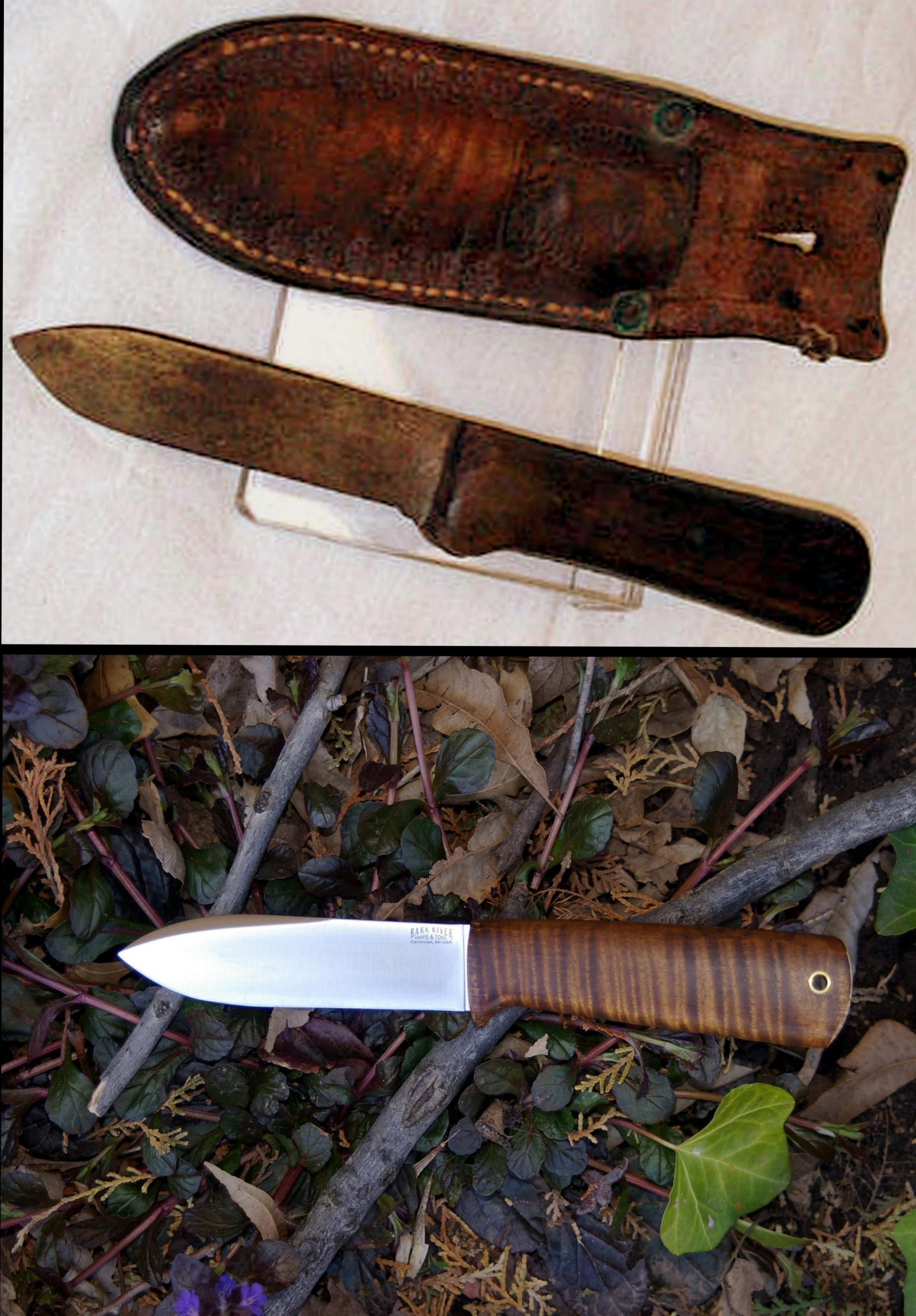 The Wilderness Knife The Woods Life